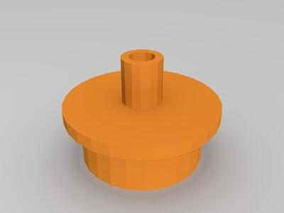 露营专用气垫床打气嘴-3d打印模型