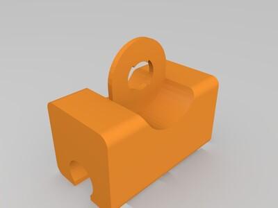 莲蓬头座-3d打印模型