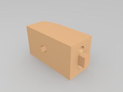 坦克炮台-3d打印模型