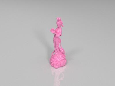 仙女献酒-3d打印模型