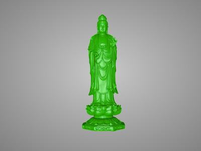 高庄站观音精品-3d打印模型