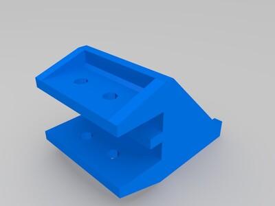 3d打印机步进电机支架-3d打印模型