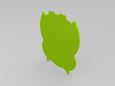 书签-3d打印模型