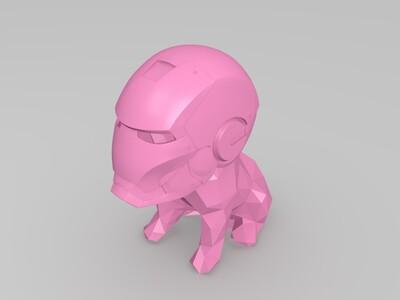 小狗钢铁侠-3d打印模型