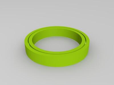精密轴承-3d打印模型
