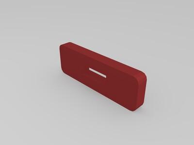 简易鲁班锁-3d打印模型