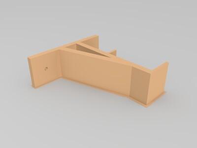 固定支架-3d打印模型