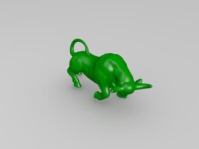 金牛-3d打印模型