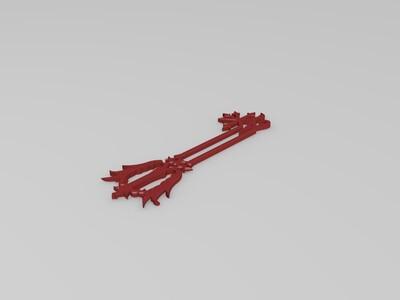 誓言之刃-3d打印模型