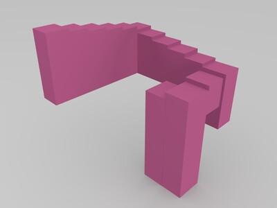 潘洛斯阶梯-3d打印模型