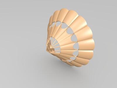 心的热气球-3d打印模型