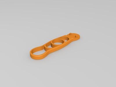 手风扇柄-3d打印模型