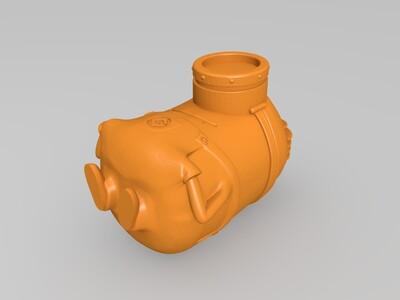 小黄人1-3d打印模型