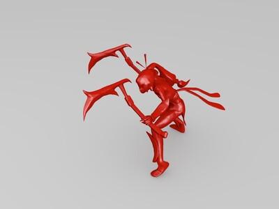 暗影之拳-3d打印模型