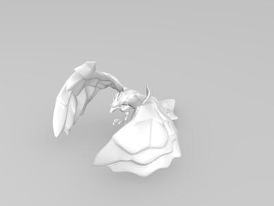冰晶凤凰-3d打印模型