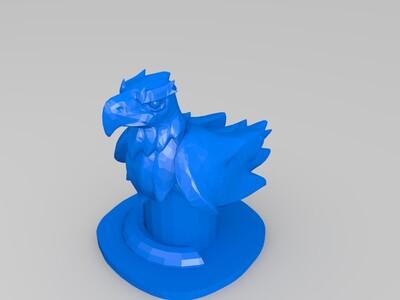 四角色棋-3d打印模型