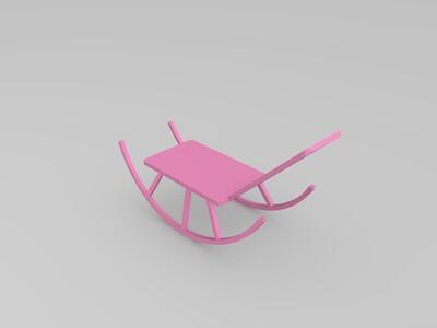 简易摇椅-3d打印模型