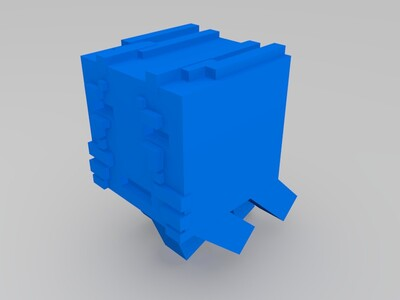 我的世界 恶魂-3d打印模型