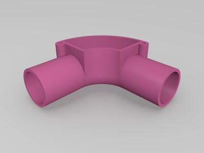 管接头-3d打印模型