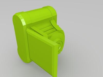 老式相机-3d打印模型