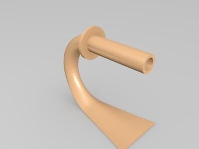 材料理线架-3d打印模型