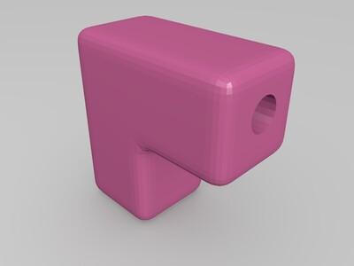 变向导管-3d打印模型