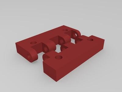 铰链-3d打印模型