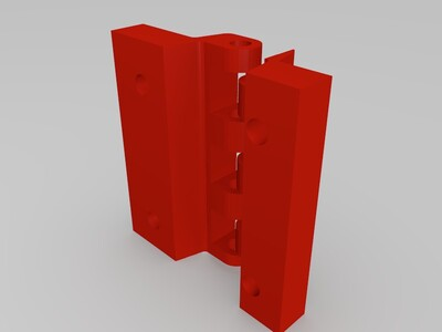合页-3d打印模型