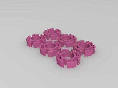 魔方转桶-3d打印模型