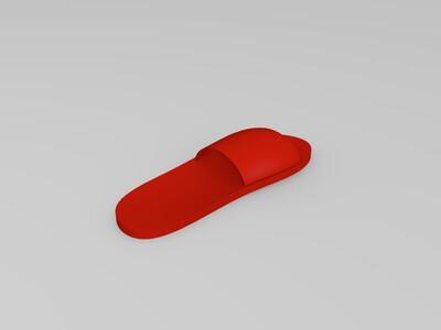 简易鞋子-3d打印模型