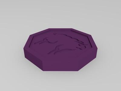 《成龙历险记》十二符咒-3d打印模型