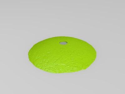 月球灯:教师节快乐(孔子版)-3d打印模型