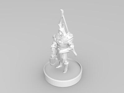 圣骑士-3d打印模型