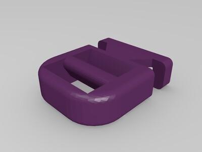 户外背包卡扣-3d打印模型