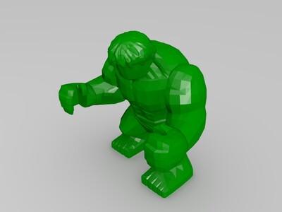 Hulk 浩克 绿巨人-3d打印模型