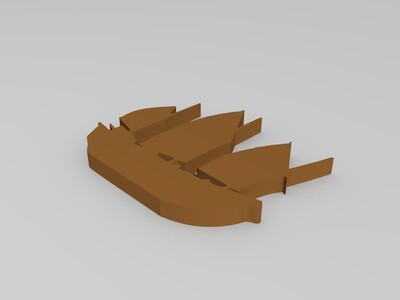 福船-3d打印模型