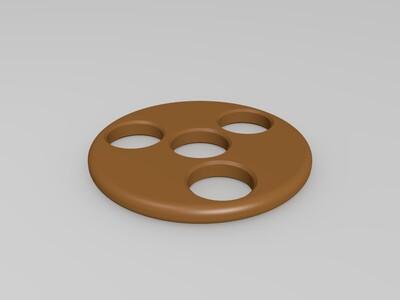 指尖陀螺1  8*22*7-3d打印模型