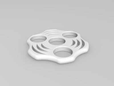 指尖陀螺2  8*22*7-3d打印模型