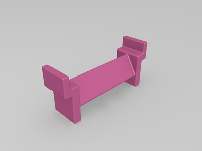 ICEMAN3D打印机D150用料卷支架改-3d打印模型