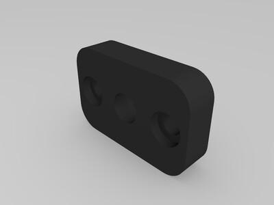 热床固定支架-3d打印模型