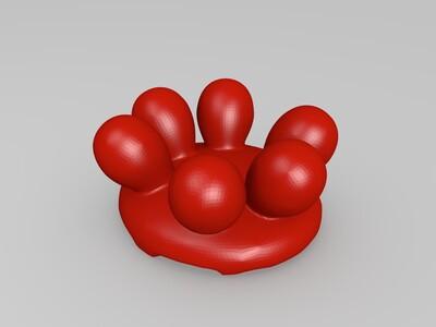 珍珠贝-3d打印模型