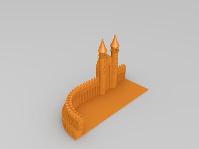 钥匙链1-3d打印模型