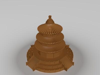 天坛-3d打印模型