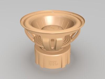 喇叭-3d打印模型