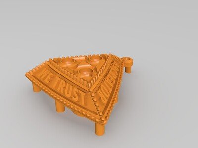三角形项链-3d打印模型
