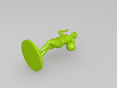 灌篮高手—宫城良田-3d打印模型