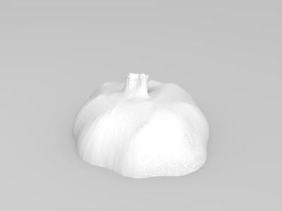 大蒜-3d打印模型