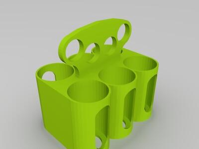 可乐收纳器-3d打印模型