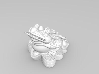 金蟾-3d打印模型