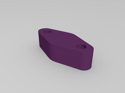 风道-3d打印模型